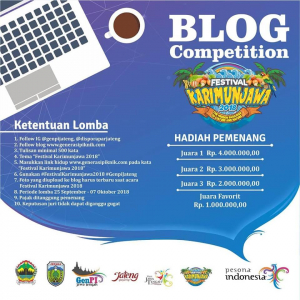 BLOG COMPETITION DAN PHOTO COMPETITION